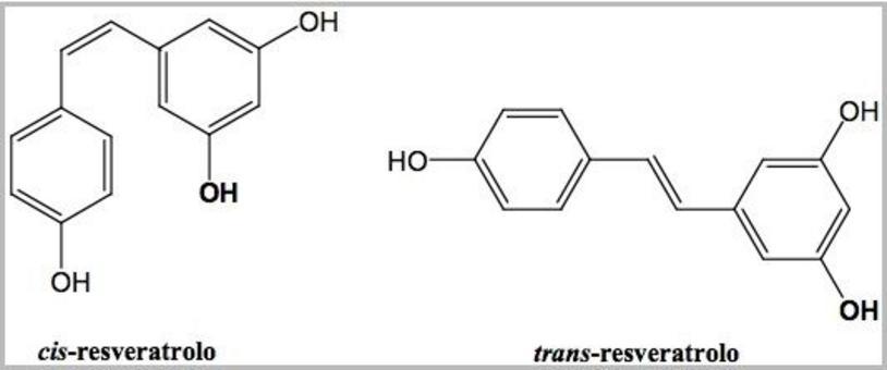 Struttura del resveratrolo
