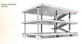 Le Corbusier, Casa Domino, 1915
