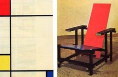 De Stijl, Oud, Mondrian, Rietveld