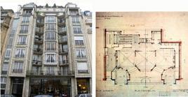 Auguste Perret, Edificio al 25bis di Rue Franklin, Parigi, 1903