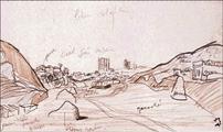 Il punto di vista del marciatore, schizzi di Le Corbusier