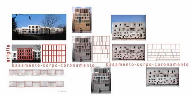 Claus & Kaan, Complesso residenziale per studenti Enschede, Paesi Bassi 1996; Moneo, Municipio, Murcia, Spagna 1998; Mansilla +Tuñón, Auditorio, León, Spagna 2002