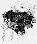 Sovrapposizione tra la pianta dello Stopehdael la cartografia del 1980