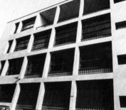 G. Terragni, Casa del Fascio, particolare logge