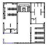 Edificio 3: pianta