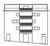 Edificio 4: prospetto