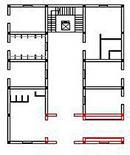 Edificio 7: pianta
