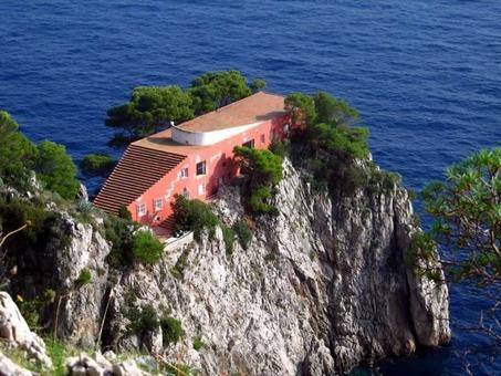 A. Libera, Villa Malaparte, Capri