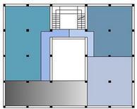 Aggregazione di spazi intorno a un centro