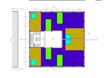 A: Casa per un DJ e una modella, soluzione di schema specchiato per la B. Alessandro Di Mare Castrese A.A. 2007/08