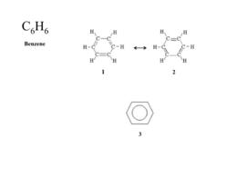 La struttura del benzene (struttura di Kekulè)