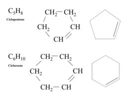 Esempi di aliciclici insaturi