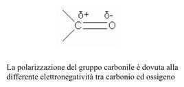 Struttura del gruppo carbonilico