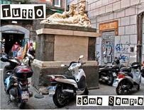 Piazzetta Nilo  ore 11,45 del 2 settembre 2009