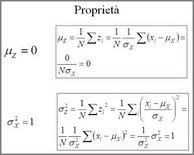Proprietà della variabile standardizzata
