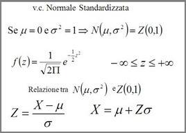 v.c. normale standardizzata