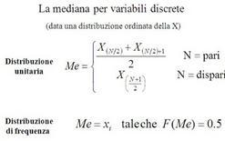 Formulazione della mediana