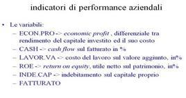 Le variabili considerate nel dataset. Fonte: Zani S. (2000). Analisi dei dati statistici, volume II, Editore Giuffrè.