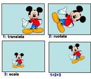 Query by example: indipendenza dalle trasformazioni.