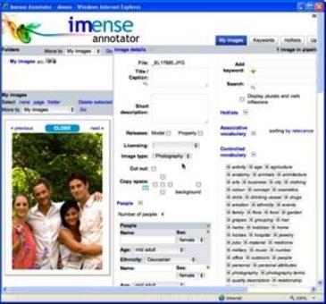 Upload ed Annotazione delle foto su server