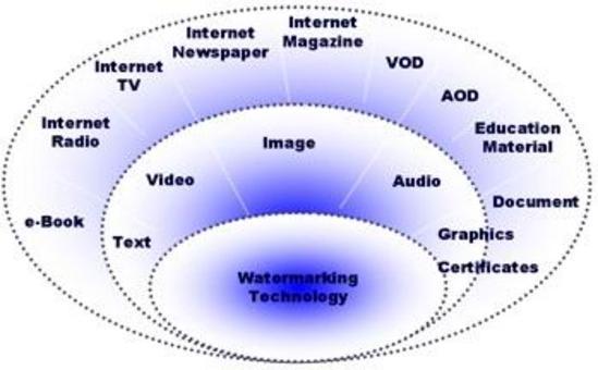 Amiti di applicazione del Watermarking.