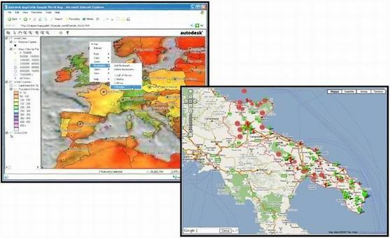 Esempio di Cartografia Digitale.