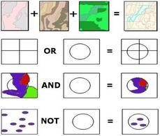Uso di operatori logici  su mappa.