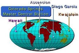 Mappa delle stazioni terrestri.