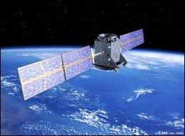 Satellite in orbita terrestre. Fonte: Tecnozoom