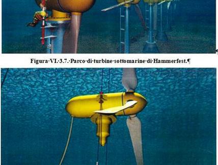 Energia Tidalica (dalle maree) – Turbina sottomarina di Hammerfest