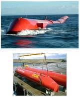 Sistema Pelamis di galleggianti snodati per lo sfruttamento del moto ondoso