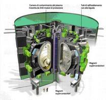 Struttura del reattore a fusione ITER (da Le Scienze 459 novembre 2006)