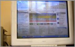 In presenza di video terminali occorre evitare effetti di riflessioni di velo