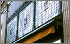 Finestre con vetri prismatici