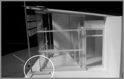 Modello in scala per la valutazione della luce naturale