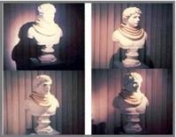 Casi di diverse illuminazioni direzionali su uno stesso oggetto