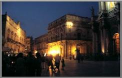 Illuminazione a Ortigia  Siracusa