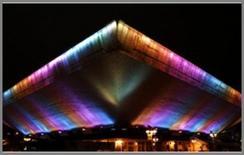 Effetti cromatici ottenuti con i LED