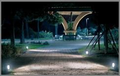 Illuminazione del Parco della Rimembranza, Napoli (iGuzzini)