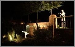 Lo stesso giardino, di notte