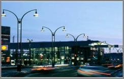 L'illuminazione stradale ha anche un impatto sul territorio