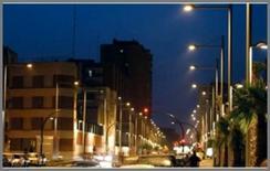Illuminazione del centro storico di Benevento (Thorn)