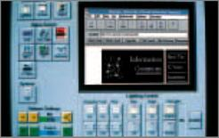 Pannello di controllo da monitor delle diverse scene luce (LUTRON)