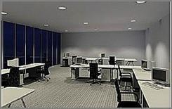 Ufficio: illuminazione diurna (ERCO)