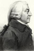 Adam Smith (Kirkcaldy, 5 giugno 1723 – Edimburgo, 17 luglio 1790).  Immagine da: Wikipedia