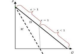 Ricavo marginale e elasticità della domanda