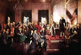 Howard Chandler Christie, Scene at the signing of the Constitution of the United States
