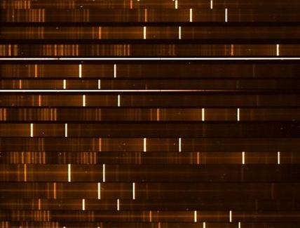 Spettroscopia multi-oggetto dell'Immagine di sinistra