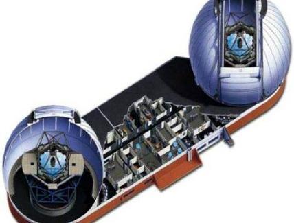 10m segmentato. Fonte: W. M. Keck Observatory