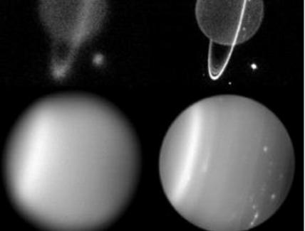 Fonte: Uranus' rings just one particle thick, June 19, 2007